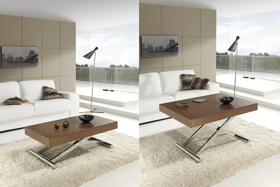 Indesan activa mesa elevable extensible deslan - Mesas salon elevables ...