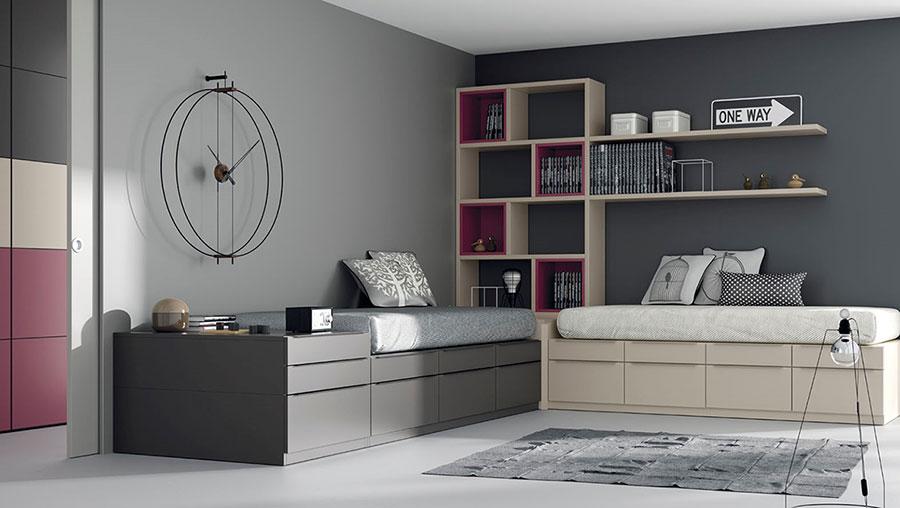 Jjp dormitorio juvenil camas deslan - Disenos de camas juveniles ...