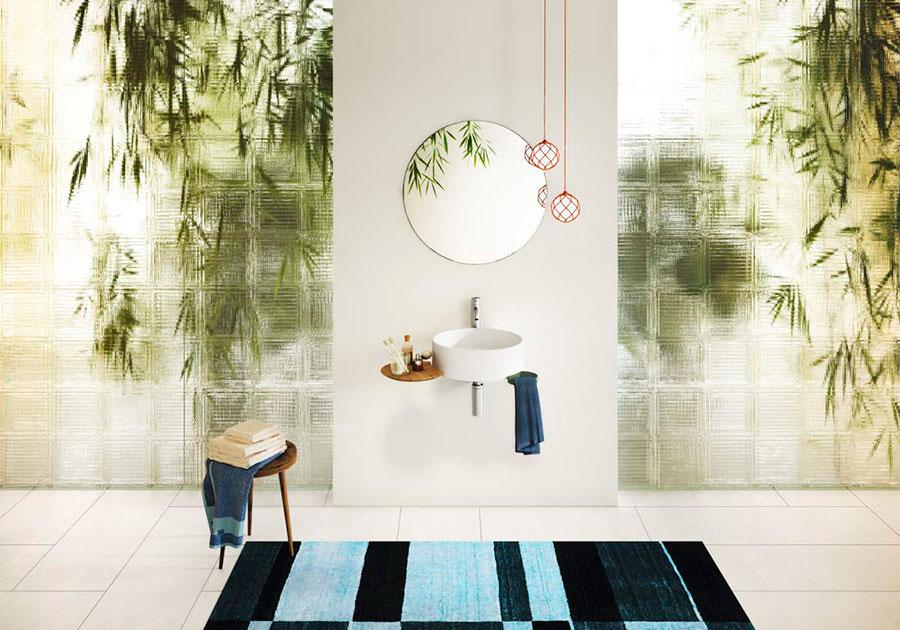 Muebles diseno banos lago lavabo cellule deslan mobiliario for Mobiliario banos diseno